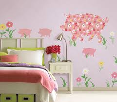 good looking wallpops in bedroom transitional with mix and match