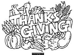 thanksgiving food coloring pages 14204
