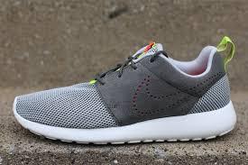 rosch runs nike roshe run dusty grey pewter sneakerfiles