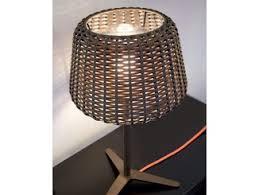 Wicker Table Lamp Ralph Rattan Floor Lamp By Panzeri