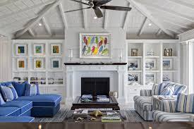 Diy Beach Theme Decor Bedroom Beach Style With Stripes Coastal - Beach style decorating living room