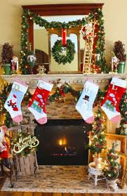 1053 best christmas mantels images on pinterest christmas