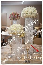 The Flower Vase Crystal Chandelier Table Centerpieces Thesecretconsul Com