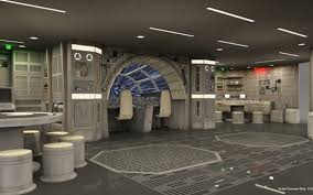 Feiges Interiors by Disney Star Wars Cruise Ship Adds A Millennium Falcon Play Area