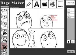 Meme Comic Maker - dan awesome s rage maker is a non memebase rage comic editor