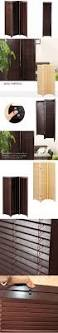 folding screen room divider wood blind partition stand oriental japanese style 3 panel folding