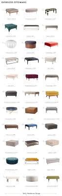 Oversized Ottoman Coffee Table 33 Ottomans That Can Do Duty As A Coffee Table Emily