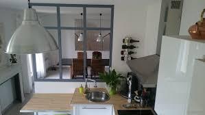 separation cuisine salle a manger la verrière intérieure en 62 idées pour toute la maison photos