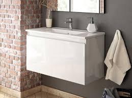 Oslo Bathroom Furniture Oslo White Wall Mounted Cabinet 795 X 380 X 465mm Ctm