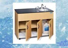 stand alone kitchen sink unit what are portable sinks and how do they work all portable