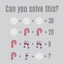 can you solve this holiday math quiz