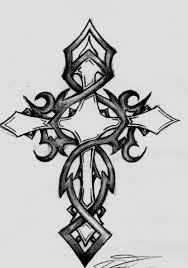 original cross sketch tattoos pinterest sketches tattoo and