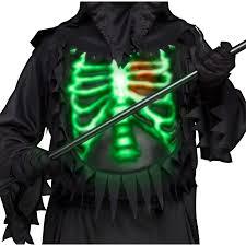 grim reaper costume buy boys grim reaper costume glow chest