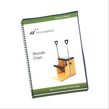 wunda chair pilates manual body organics