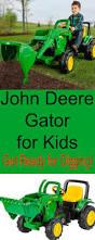 john deere front loader kids get ready for digging