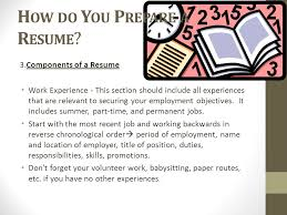 a resume should include writing your resume planning 10 what is a resume a resume is a