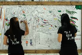 philosopher s walk a free colouring mural of toronto pilot pmr this year s tedxtoronto conference theme was thresholds a threshold can define that moment when something goes from niche to normative