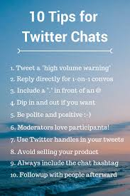 a step by step guide to hosting or joining a twitter chat