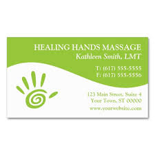 Great Business Card Designs 2049 Best Massage Business Cards Images On Pinterest Massage