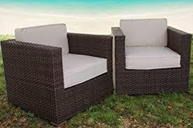 Bellagio Patio Furniture Amazon Com Atlantic Bellagio All Weather Wicker Lounge Chair Set