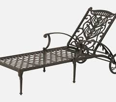 lovely wrought iron chaise lounge chairs interior