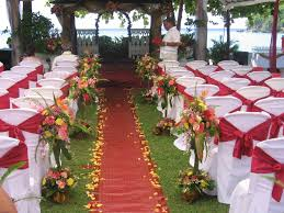 summer outdoor wedding decorations