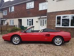 ferrari classic convertible 1990 ferrari mondial 3 4 t cabriolet coys of kensington
