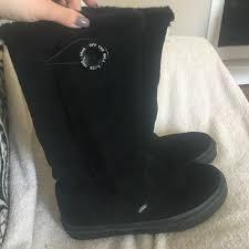 womens vans boots 42 vans shoes womens black vans winter boots 7 5 from