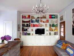 living room with bookcases ideas dorancoins com
