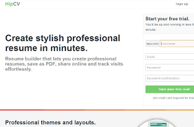 Free Resume Builder No Sign Up 40 New Startup Websites And Landing Pages For Inspiration