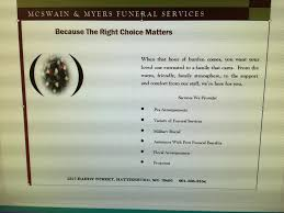 funeral assistance programs mcswain myers funeral services llc home