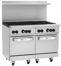 Wolf 48 Inch Gas Cooktop Challenger Xl Wolf Range Commercial Restaurant Stoves