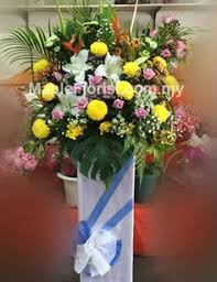 cheap same day flower delivery funeral flowers delivery johor bahru send funeral flowers