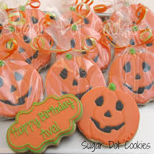 Sugar Cookie Halloween by Sugar Dot Cookies Jack O Lantern Sugar Cookies With Royal Icing Glaze