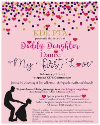 pta meeting invitation father daughter dance tickets now on sale kde pta
