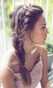 Frisuren Mittellange Haare Zopf by Frisuren Lange Haare Locken Zopf Acteam