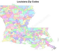 New Orleans Zip Code Map Louisiana Zip Code Maps Free Louisiana Zip Code Maps