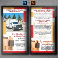 moving and packing service premium dl psd ai flyer template