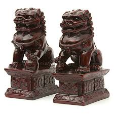 foo dog bookends furniture 6 fu dog statues kitchen dining