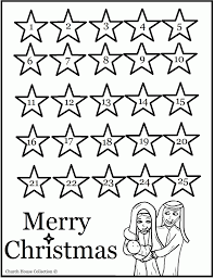 advent coloring pages to print kids coloring