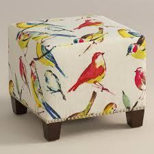home decor bird watcher mckenzie ottoman world market get