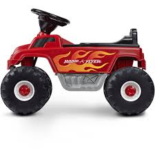 power wheels bigfoot monster truck radio flyer monster truck with lights and sounds 6v battery