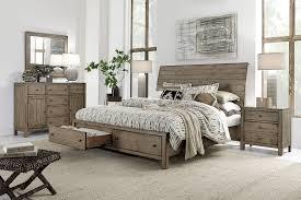 aspen home bedroom furniture aspenhome aspenhome tildon sleigh storage bedroom set in mink i56