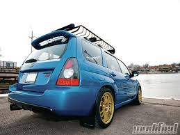 stanced subaru forester 2007 subaru impreza forester fanatic modified magazine