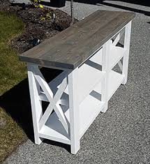 rustic x console table rustic x console table immediate sale the twisted pine