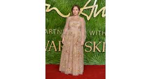Burr Burr Carpet Tanya Burr British Fashion Awards Red Carpet Dresses Popsugar
