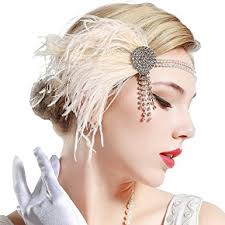 1920s hair accessories babeyond 1920s peacock headpiece flapper headband with
