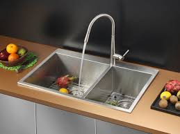 Ruvati RVC Stainless Steel Kitchen Sink And Stainless Steel - Kitchen sink and faucet sets