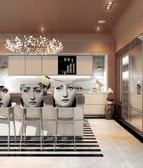 Modern Home Interior Decorating A Modern Art Deco Home Visualized In Two Styles