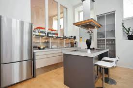 small kitchen spaces ideas sleek black bar stool in chrome frame